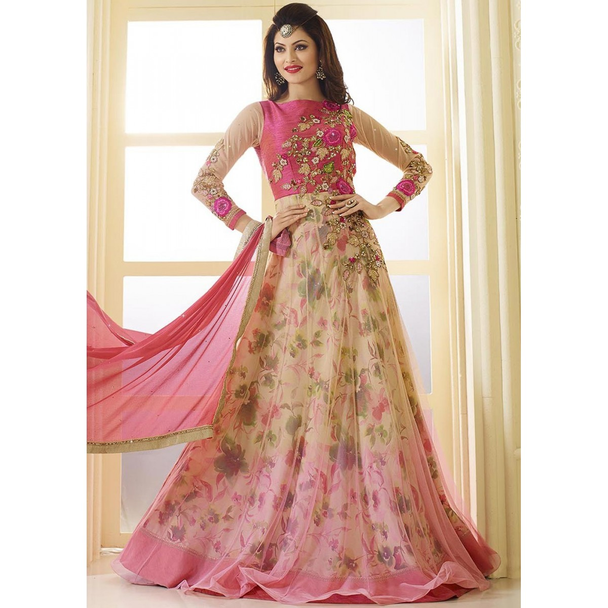 womens party wear gown